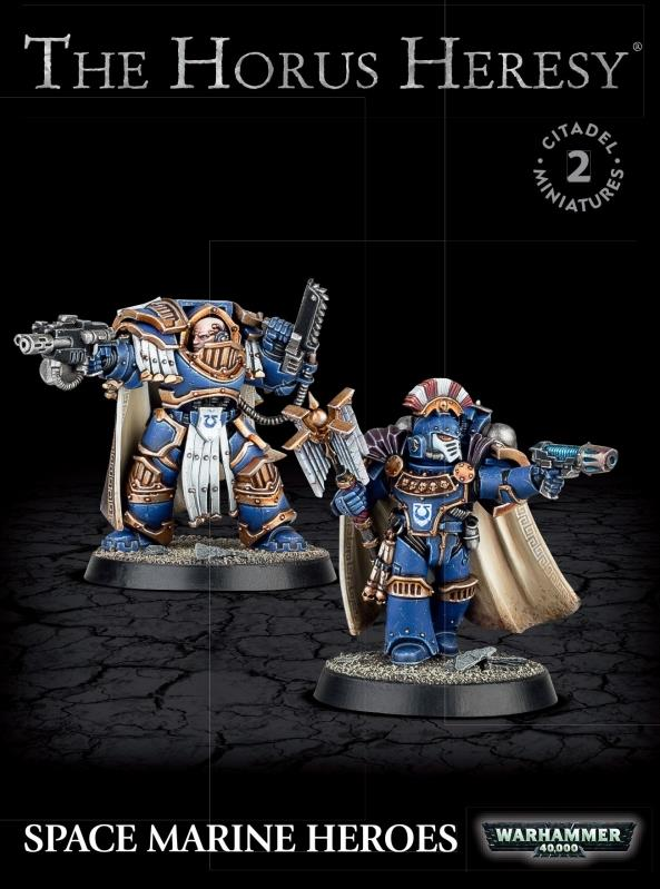 The Horus Heresy Space Marine Heroes