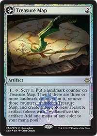 Treasure Map / Treasure Cove - Alt Art Promo