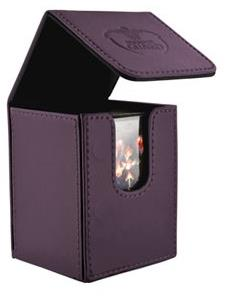 Ultimate Guard Leatherette Deck Box Purple
