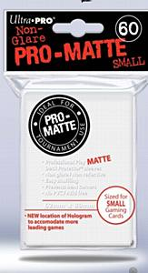 Ultra Pro Matte White Sleeves Small