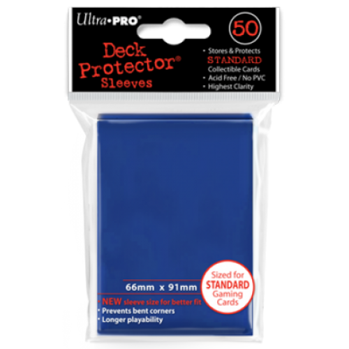 Ultra Pro Blue Sleeves Standard