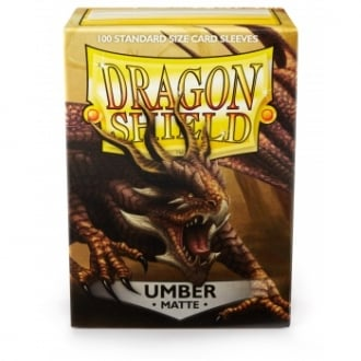 Dragon Shield Umber Matte Sleeves Standard x 100