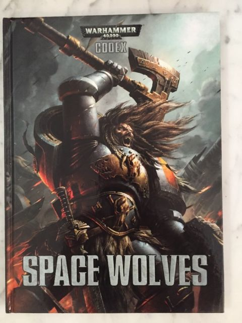 Codex Space Wolves (7th Edition Softback)