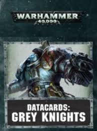 Datacards Grey Knights (8th Edition)