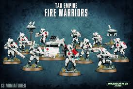 Tau Empire Fire Warrior Breacher / Strike Team