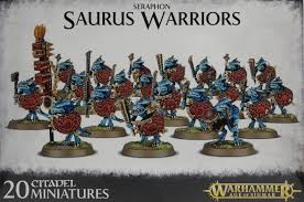 Seraphon Saurus Warriors