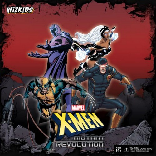 X-Men Mutant Revolution Board Game