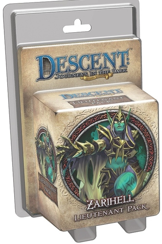 Descent: Journeys in the Dark: Zarihell Lieutenant Pack
