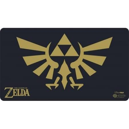 Zelda Playmat Black and Gold with Tube