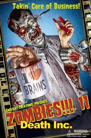 Zombies 11!!! : Death Inc.
