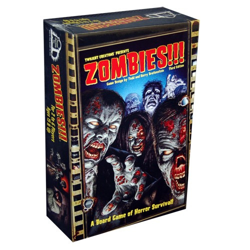 Zombies!!! Main Game 3rd Ed.
